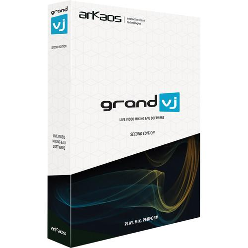 American DJ Grand VJ by ArKaos- Eight Layer GRAND VJ 2.0-UG