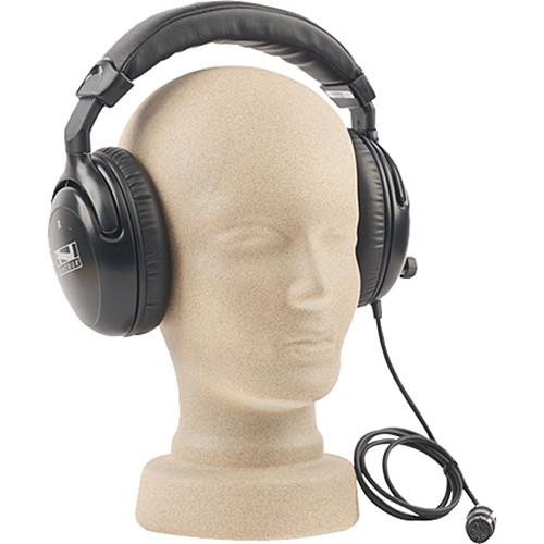 Anchor Audio H-2000L - Dual Muff Headset (Listen Only) H-2000L