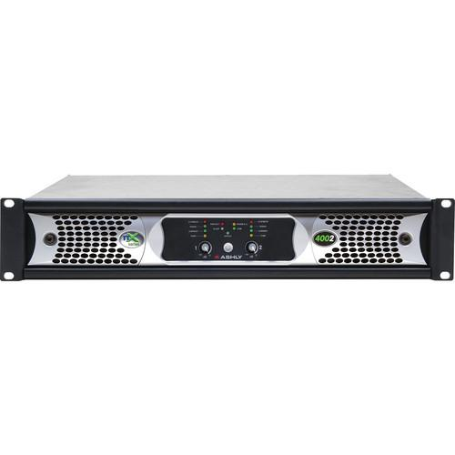 Ashly nX Series NX4002 2-Channel 400W Power Amplifier NX4002