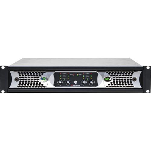 Ashly nXe Series NXE8004 4-Channel 800W Power Amplifier NXE8004