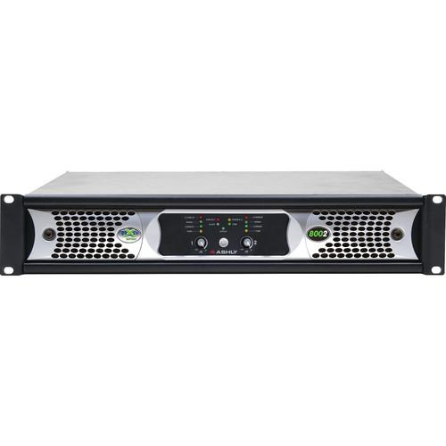 Ashly nXp Series NXP8002 2-Channel 800W Power Amplifier NXP8002