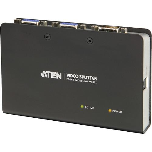 ATEN  VS-82 2-Port Video Splitter VS82