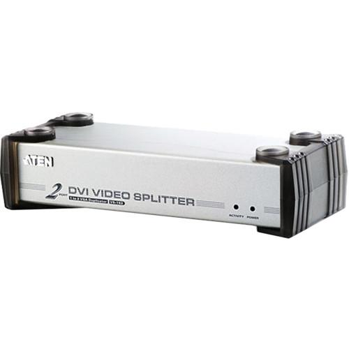 ATEN  VS162 2-Port DVI Video KVM Splitter VS162