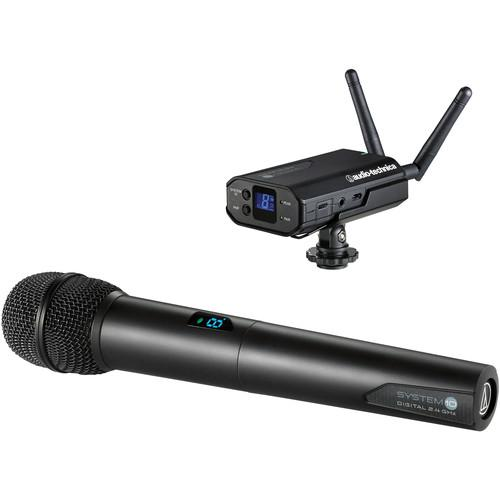 Audio-Technica System 10 - Camera-Mount Digital ATW-1702