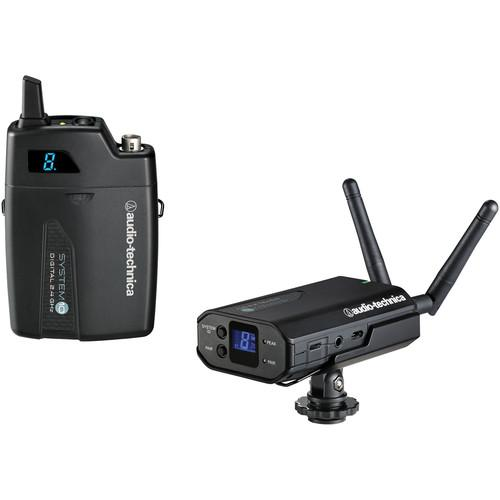 Audio-Technica System 10 Camera-Mount Digital Wireless ATW-1701
