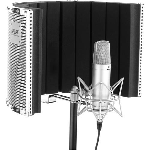 Auray Reflection Filter with Microphone Stand Kit RF-CM-SK