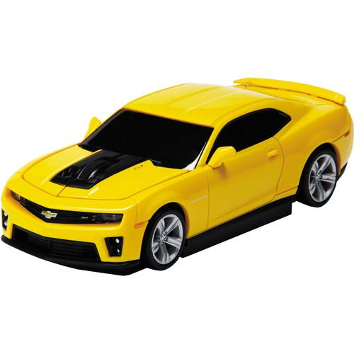 Automouse Chevrolet Camaro ZL 1 2.4 GHz Wireless 95903W-YELLOW