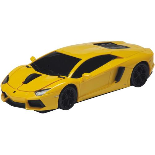 Automouse Lamborghini Aventador 2.4 GHz Wireless 95901W-YELLOW