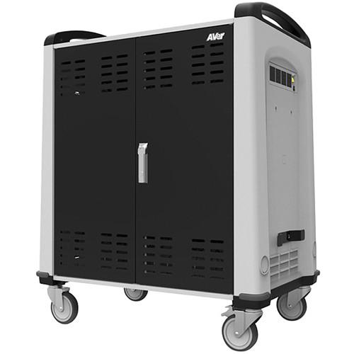 AVer TabChargeCT 36 Device Charge Cart with Built-In CRMCHRG01