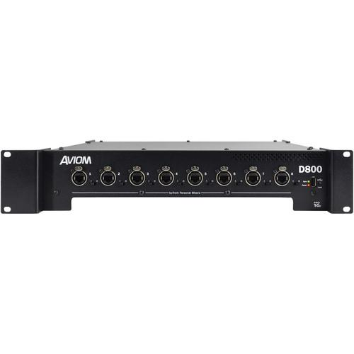 Aviom D-800 A-NET Distributor with A-Net Bridge Input D800