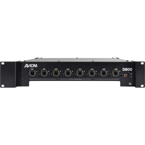 Aviom D-800-Dante A-Net Distributor with A-Net Bridge D800-DANTE