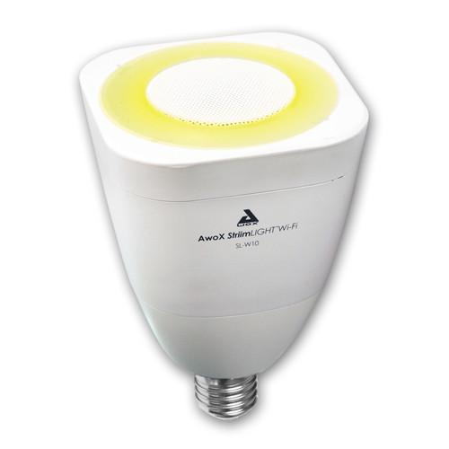 AwoX StriimLIGHT Wi-Fi Speaker and LED Bulb SL-W10