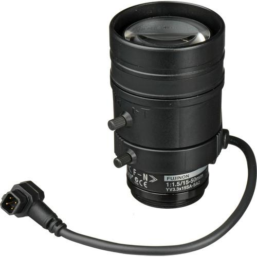 Axis Communications CS-Mount 15 to 50mm F1.5 3 MP 5502-761