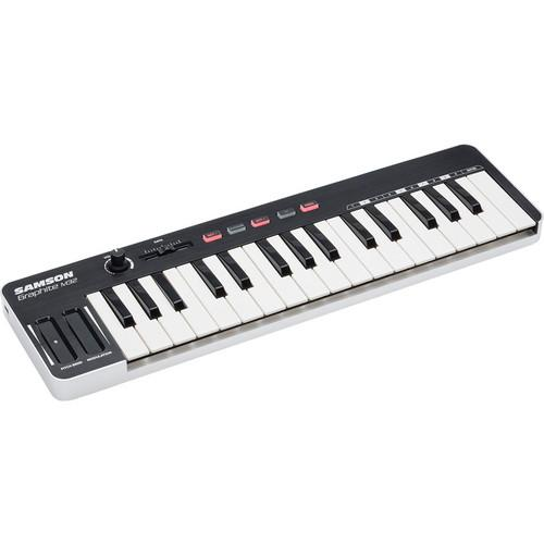 32-Key MIDI Controller with Music Stand and