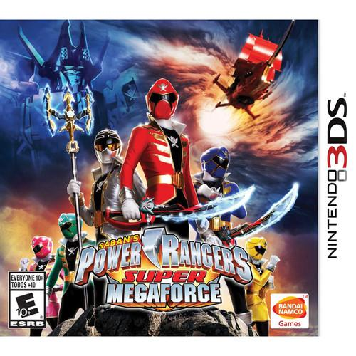BANDAI NAMCO Power Rangers Super Megaforce (Nintendo 3DS) 70060
