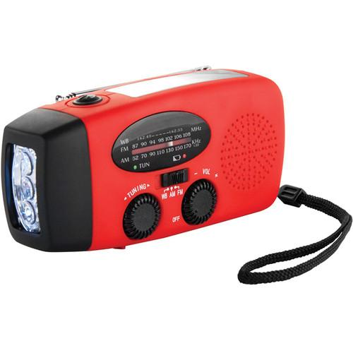 Barska Hand Crank Radio with Flashlight and Charger BK12224