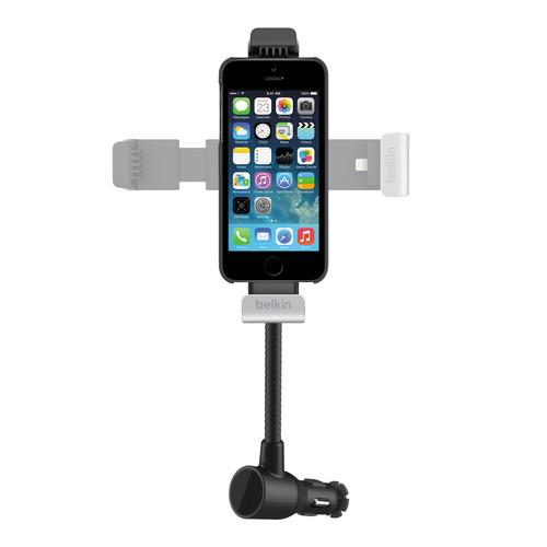 Belkin Car Navigation   Charge Mount for iPhone 5/5s F8J132BTBLK, Belkin, Car, Navigation, , Charge, Mount, iPhone, 5/5s, F8J132BTBLK