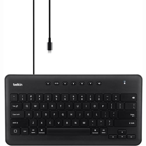 Belkin Secure Wired Keyboard for iPad with Lightning B2B124