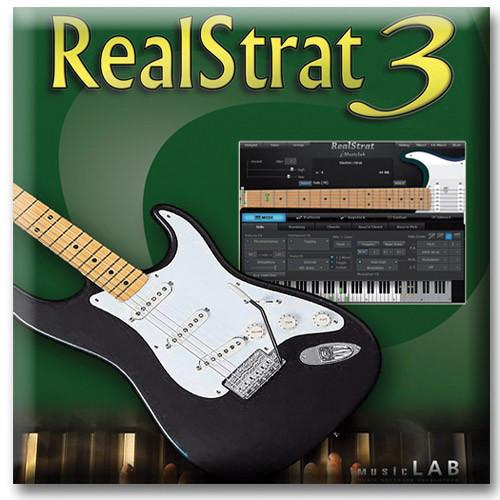 Big Fish Audio RealStrat 3 - Fender Stratocaster BSV71802-