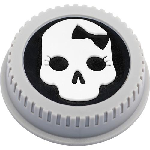 BlackRapid LensBling Skull with Bow Cap for Canon Lenses