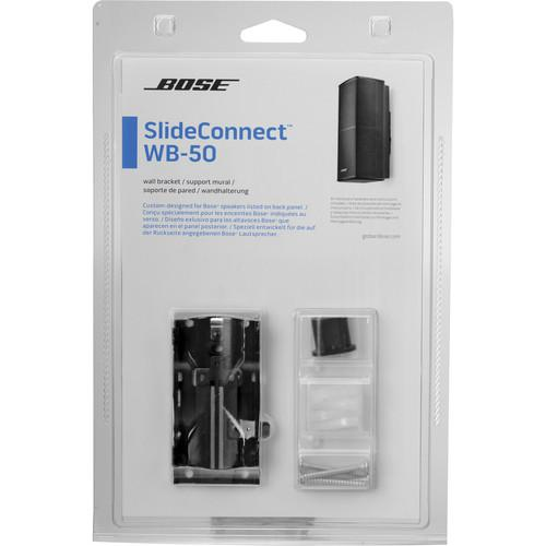 User Manual Bose Slideconnect Wb 50 Wall Bracket Black 716402 0010 Pdf Manuals Com