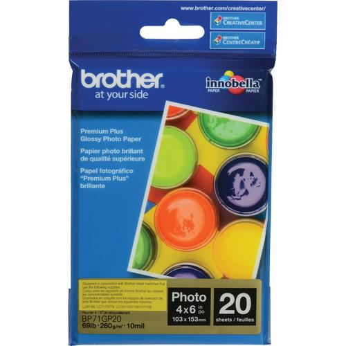 Brother  Innobella Glossy Photo Paper BP71GP20