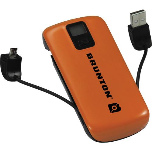 Brunton Metal 4400 Rechargeable Battery Pack (Orange) F-METAL-OR