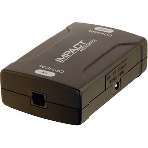 C2G Optical to Coaxial Digital Audio Converter (Black) 40019