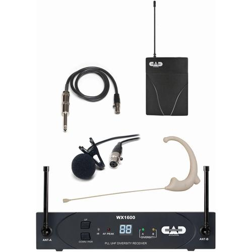CAD StageSelect WX1610 Wireless Bodypack System WX1610