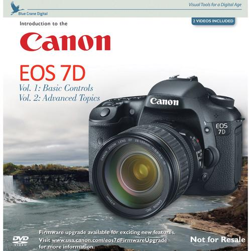 Canon DVD: Introduction to the Canon EOS 7D 0168W702
