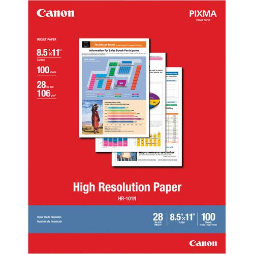 Canon High Resolution Paper (8.5 x 11
