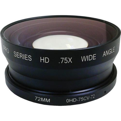 Century Precision Optics 0.75X HD Wide Angle 0HD-75CV-72