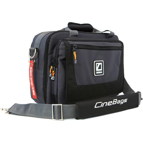 CineBags CB-27 Lens Smuggler Bag (Black/Charcoal) CB27