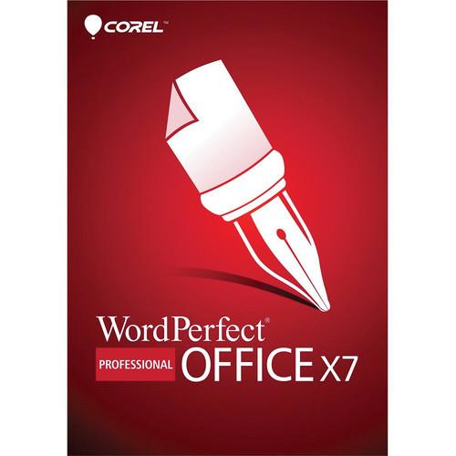 Corel WordPerfect Office X7 Professional Edition PK-ESDWPX7PREN