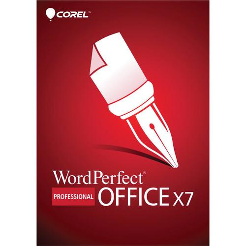 Corel WordPerfect Office X7 Professional Edition WPOX7PRENDVDUG
