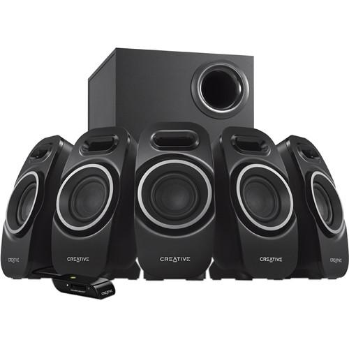 Creative Labs A550 5.1 Speaker System (Black) MF4120AA002
