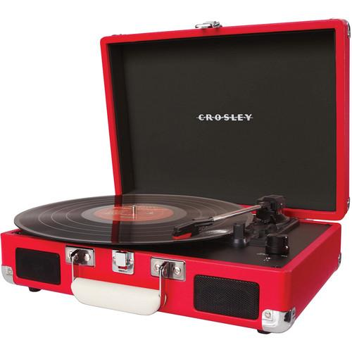 Crosley Radio Cruiser Portable Turntable (Red) CR8005A-RE