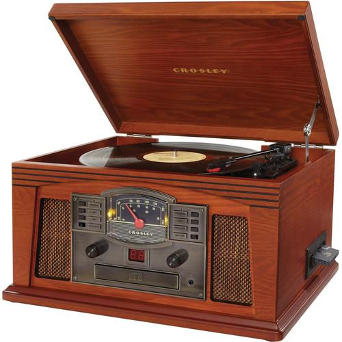 Crosley Radio Lancaster Sound System with Turntable, CR42C-PA
