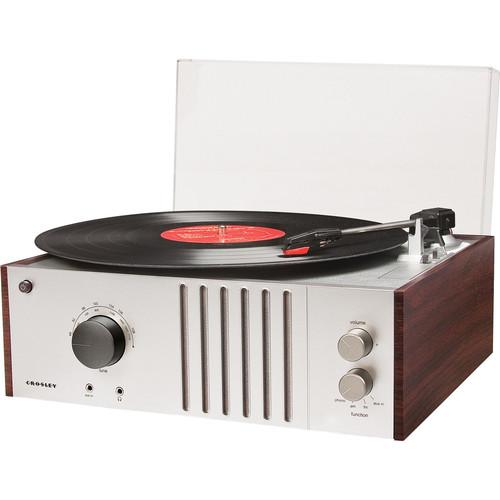 Crosley Radio Player Turntable with AM/FM Radio and CR6017A-MA