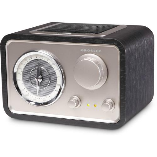 Crosley Radio SOLO AM/FM Radio (Black) CR3003A-BK
