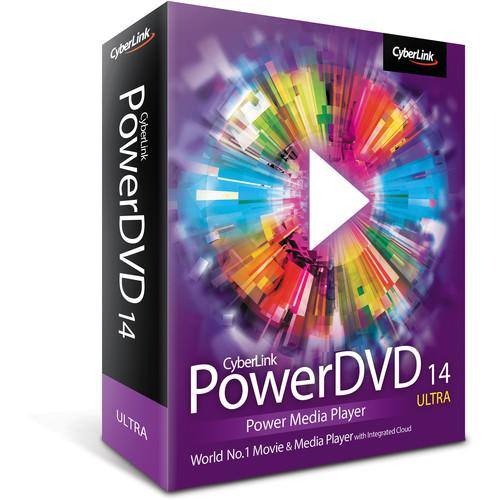 CyberLink  PowerDVD 14 Ultra DVD-0E00-IWU0-00