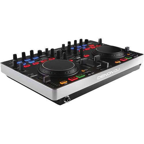 Denon DJ MC2000-DJ Controller With Serato Intro, Microphone,
