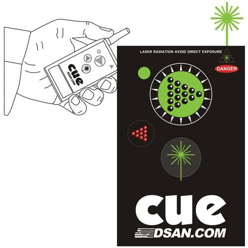 DSAN Corp. 3-Button Wireless Transmitter with Green PC-AS-3-GRN