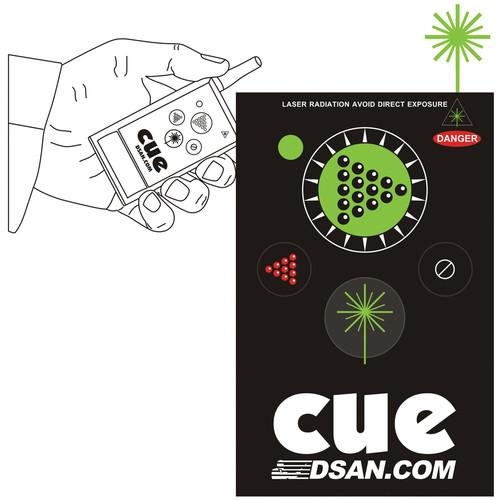 DSAN Corp. 4-Button Wireless Transmitter with Green PC-AS-4-GRN