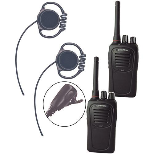 Eartec Scrambler SC-1000 Plus 2-Way Radio and Loop LOSC2000LL