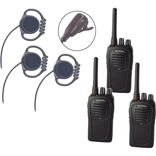 Eartec Scrambler SC-1000 Plus 2-Way Radio and Loop LOSC3000LL