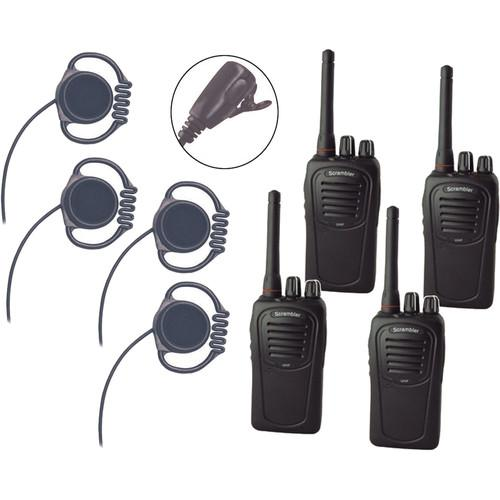 Eartec Scrambler SC-1000 Plus 2-Way Radio and Loop LOSC4000LL