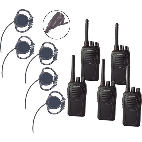Eartec Scrambler SC-1000 Plus 2-Way Radio and Loop LOSC5000LL