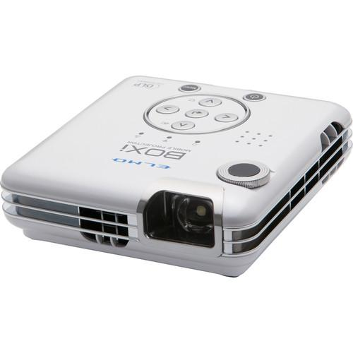 Elmo BOXi MP-350 300 Lumens WXGA Mobile Projector 1915-1