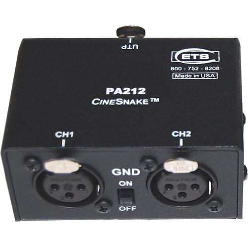 Energy Transformation Systems CineSnake PA212 2-Channel PA212